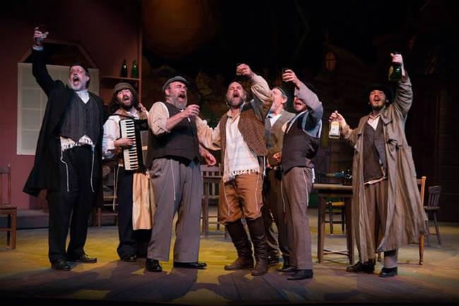 Nate Venet in Fiddler on the Roof at Saint Michael's Playhouse
